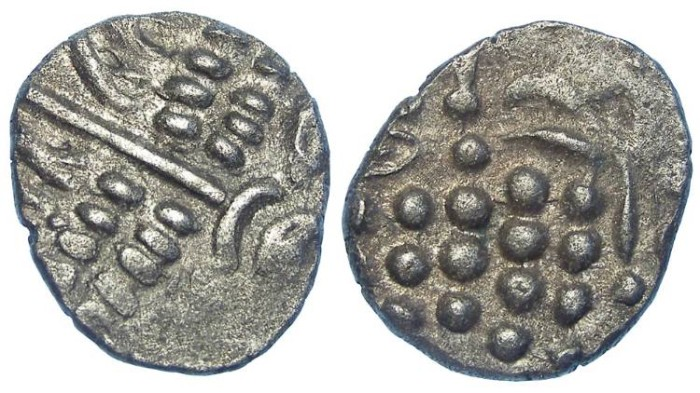 Ancient Coins - Celtic, British. Durotriges. ca. 58 to 45 BC. Billon stater.