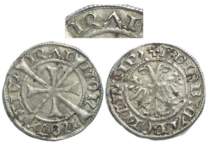 Ancient Coins - Austria, Wiener Neustadt. Fredrick III. Silver Kreuzer. DATED 1471.