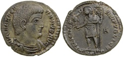 Ancient Coins - Magnentius, AD 350-352. AE Centenionalis.