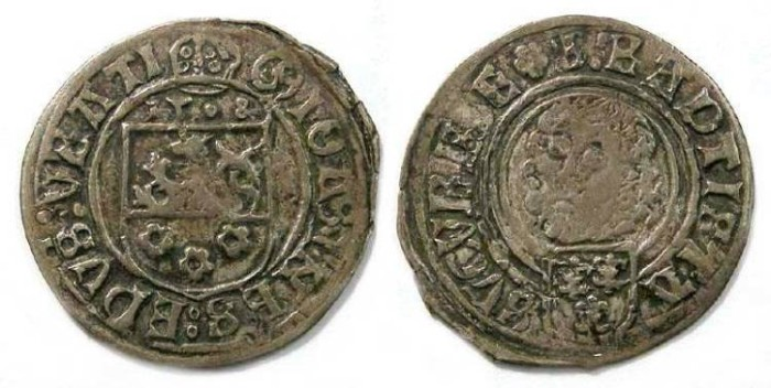 Ancient Coins - Poland, Silesia.  Johann V. Thurzo, Bishop of Breslau. AD 1508