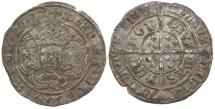 World Coins - English, Henry VII, AD 1489 to 1509. Silver groat.