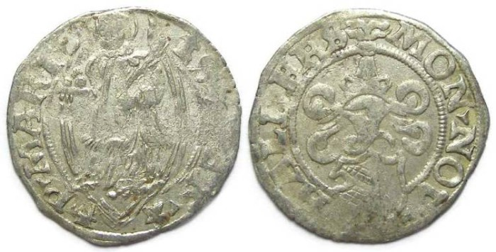 Ancient Coins - Germany, Halberstadt. Cathedral Kortling.  Dated 1542