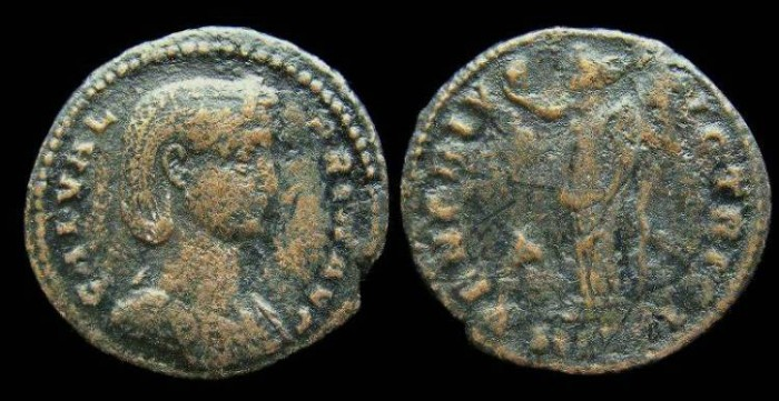 Ancient Coins - Valeria Galeria, AD 305-311. Bronze follis.