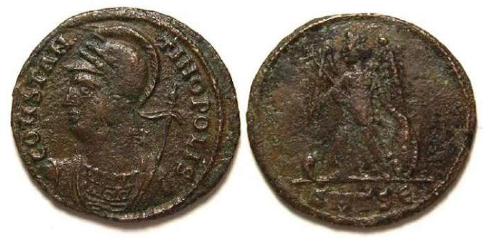 Ancient Coins - Constantine commemorative period, ca. AD 330-346.