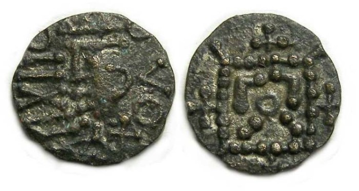Ancient Coins - Britain, Anglo-Saxon, ca. AD 710 to 760. Secondary series billon sceattas.