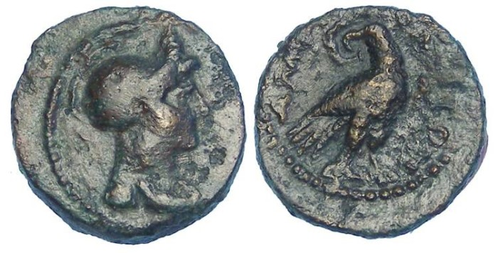 Ancient Coins - Macedonia, Amphipolis.  Imperial Anonymous AE 14.  2nd to 3rd Century AD.