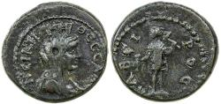 Ancient Coins - Macedonia, Thessalonica. AE 20, Pseudo-autonomous. 2nd Century AD.