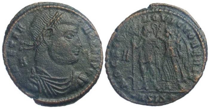 Ancient Coins - Vetranio, AD 350. AE Centenionalis.