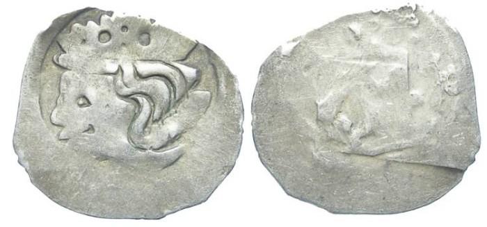 Ancient Coins - Austria. Vienna. Rudolf I, AD 1276 to 1282. Silver Pfennig.
