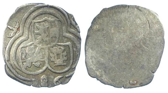 Ancient Coins - Austria, Salzburg. Johann Jakob Khuen Von Belasi, AD 1560 to 1586. Silver Zweier. Dated (15)86.