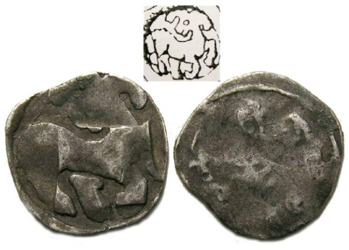 Ancient Coins - Austria, Vienna.  Ottokar II, AD 1251-1276.  Silver Pfennig