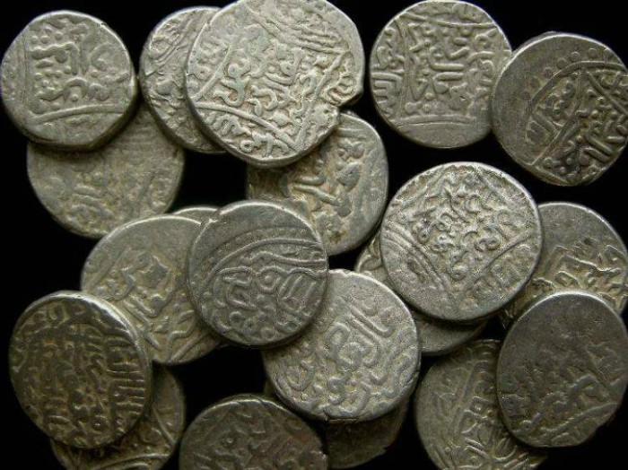 Ancient Coins - Aq Qoyunlu.  Ya Qub . AD 1478 to 1490.  Silver Tanka.