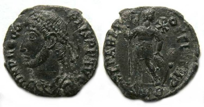 Ancient Coins - Procopius, AD 365 to 366, AE 3