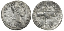 Ancient Coins - Clodius Albinus as Augustus, AD 195-196, Silver denarius Nice for one of these.