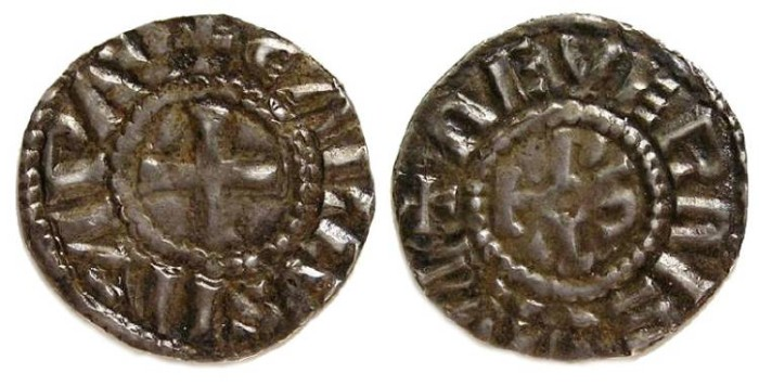 Ancient Coins - Carolingian, West Frankish Kingdom, Charles the Bald. AD 840 to 877.