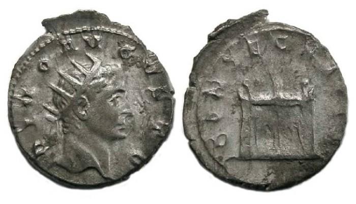 Ancient Coins - Divo Augustus. Antoninianus struck by Trajan Decius.