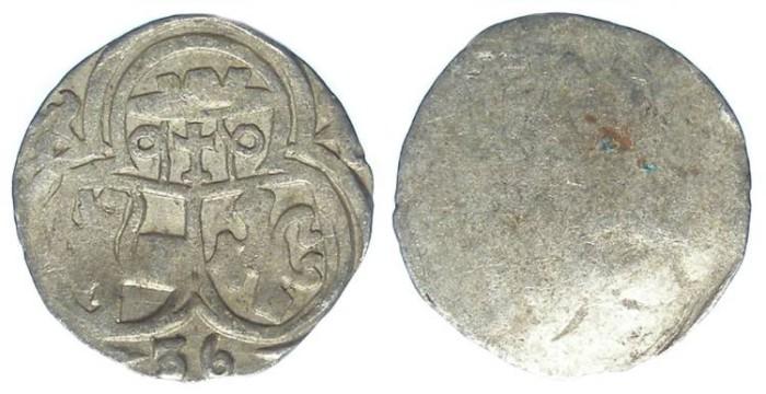 World Coins - Austria, Salzburg. Matthaus Lang von Wellenburg, AD 1519 to 1540.  Silver Zweier. 1536.