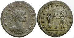 Ancient Coins - Aurelian, AD 270-275. Bronze antoninianus. SCARCE TYPE.