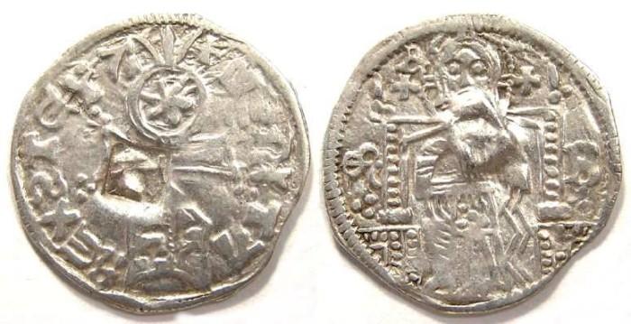Ancient Coins - Serbia, Stefan Uros IV Dusan as King, AD 1331-1346.