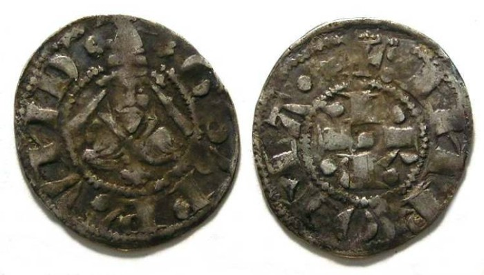 Ancient Coins - Papal. Pope Gregory XI, AD 1370 to 1378.