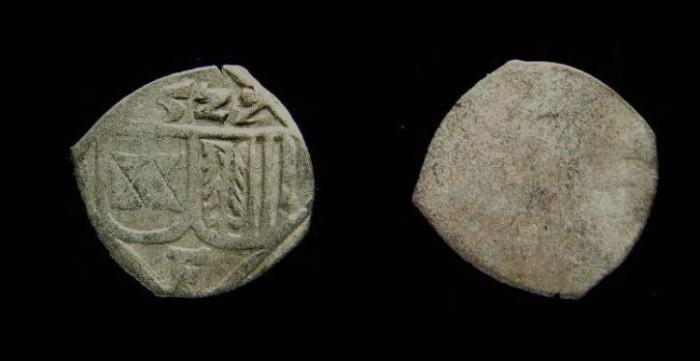 Ancient Coins - Austria, Ferdinand I, 1521 to 1564, billon pfennig. Dated 1527