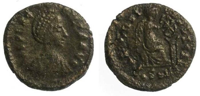 Ancient Coins - AELIA FLACCILLA. AD 379 TO 395. AE 4.