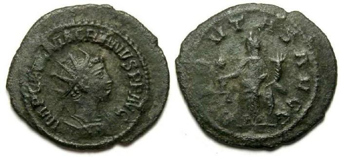 Ancient Coins - Macrianus, AD 260 to 261. Billon Antoninianus.