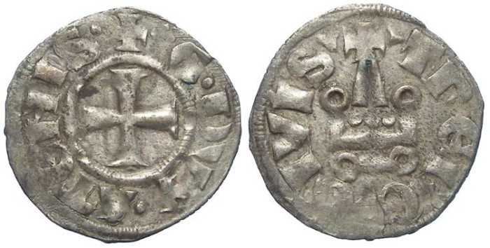 Ancient Coins - Crusaders in Frankish Greece, Athens, William de la Roche, AD 1280-1287 and Guy II de la Roche, AD 1287 to 1294