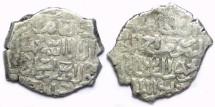 World Coins - Islamic. Bahri Mamluk. Muhammad II, AD 1361 to 1366. Silver dirham.