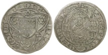 World Coins - Germany, Cologne. Anonymous city coin after AD 1474.  Silver Weissphenning.