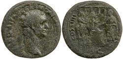 Ancient Coins - Domitian, As, AD 81 to 96.