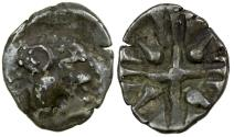 Ancient Coins - Celtic, Noricum.  Alps and Nothern Europe. Silver obol. 2nd to 1st century BC.