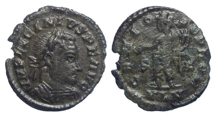 Ancient Coins - Licinius.  AD 308 to 324.  AE 3.  LONDON MINT.