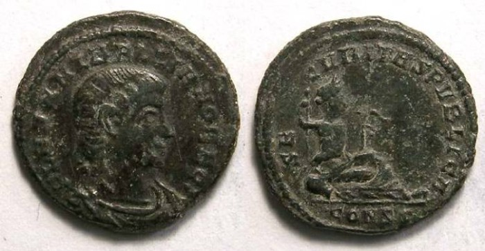 Ancient Coins - Hanniballianus, AD 335 to 337. AE 4