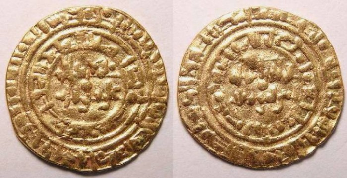 Ancient Coins - Fatimid. al-Hakim. AH 398 (AD 1008). Gold Dinar.