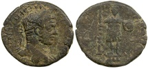 Ancient Coins - Caracalla, AD 193 to 217. AE 30 from Rabbathmoba in Arabia.
