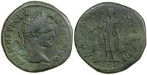 Ancient Coins - Caracalla, AD 198-217.  AE 27 from Hadrianopolis in Thrace.