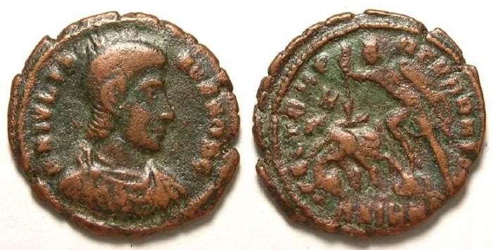 Ancient Coins - Julian II as Caesar, AD 335 to 360.   AE 3.