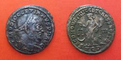 Ancient Coins - DIOCLETIANUS ( 284-303)  R!, follis
