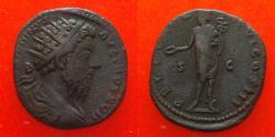Ancient Coins - Marcus Aurelius (161-180), Dupondius, Rome