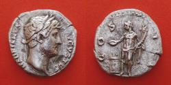 Ancient Coins - Hadrian (117-138) Denarius ,Rome