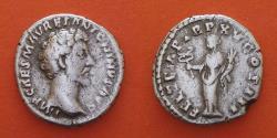 Ancient Coins - Marc Aurele Auguste (161-180), AR Denar, Rome
