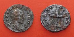 Ancient Coins - DIVUS SEVERUS ALEXANDER  (died 235)  Struck under Trajanus Decius, antoninianus. rome