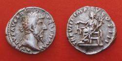 Ancient Coins - Lucius Verus (161-169), Rome, AR Denarius