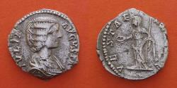 Ancient Coins - Julia Domna (Augusta, 193-211). Denarius. Laodicea.