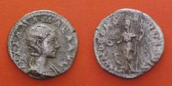 Ancient Coins - Julia Mamaea (Augusta, 222-235). Denarius. Rome