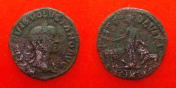 Ancient Coins - Volusian Moesia superior.  251-253. , viminacium