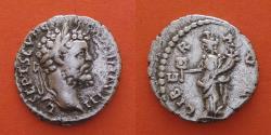 Ancient Coins - Septimius Severus (AD 193-211), AR Denarius, Rome