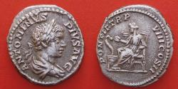 Ancient Coins - Caracalla (198-217), AR Denarius, Rome