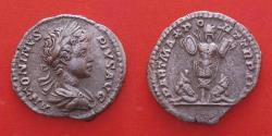 Ancient Coins - CARACALLA, AD (198-217) ROME AR DENARIUS